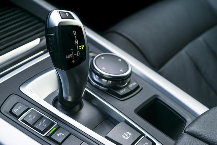 Automatic Gear Stick In Car